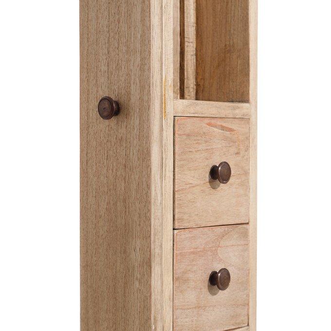 Зеркало настенное-шкаф с двумя выдвижными ящиками