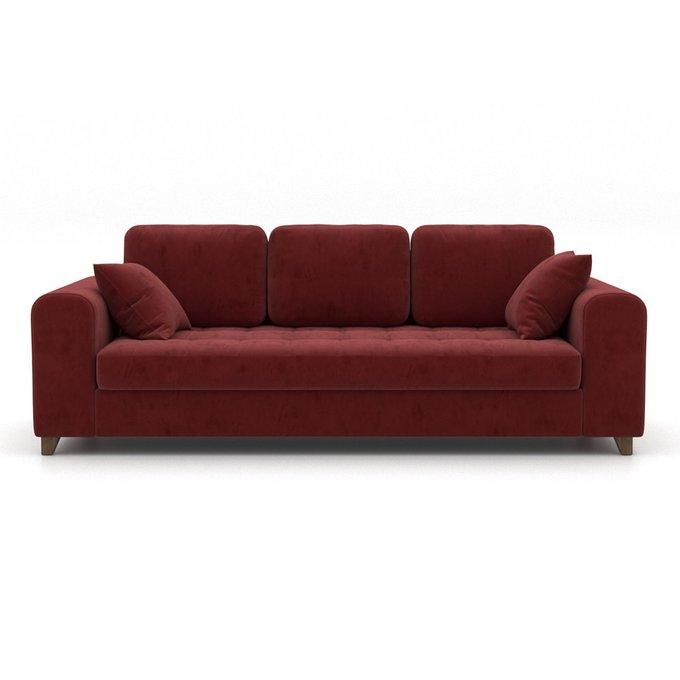 Диван-кровать Vittorio EKL трехместный бордовый