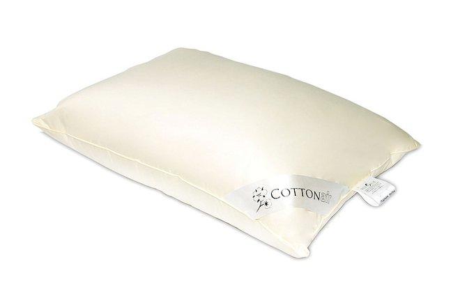 Подушка Cotton Air 70x70 с чехлом из сатина