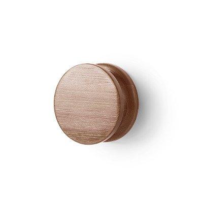 Круглая настенная вешалка Ran из бамбука коричневого цвета
