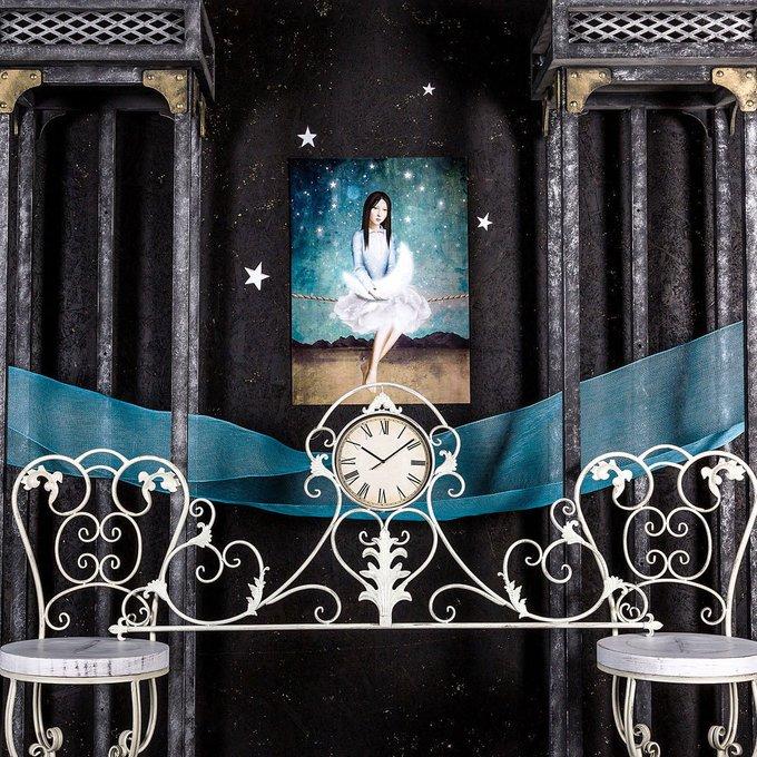 Барный стул Болеро белого цвета