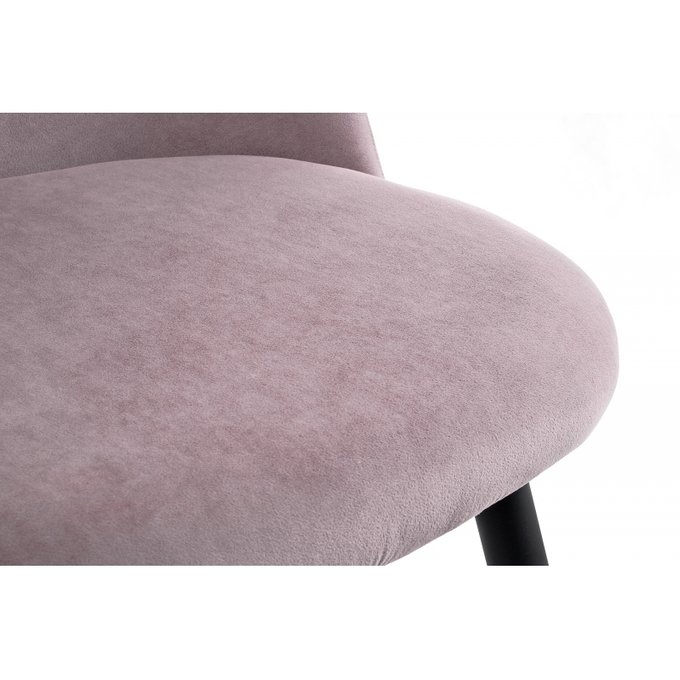 Обеденный стул Vels light purple светло-пурпурного цвета