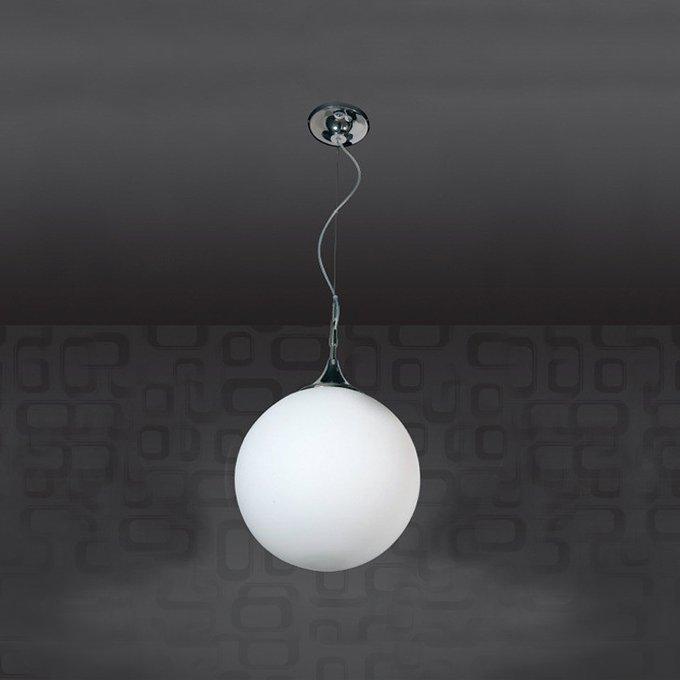 Подвесной светильник Jago Globi с плафоном из белого матового стекла