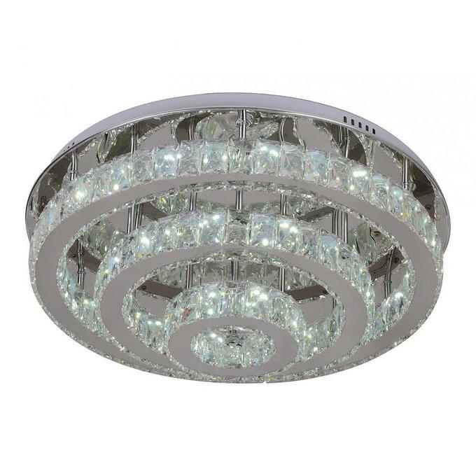 Потолочный светодиодный светильник Тор-Кристалл