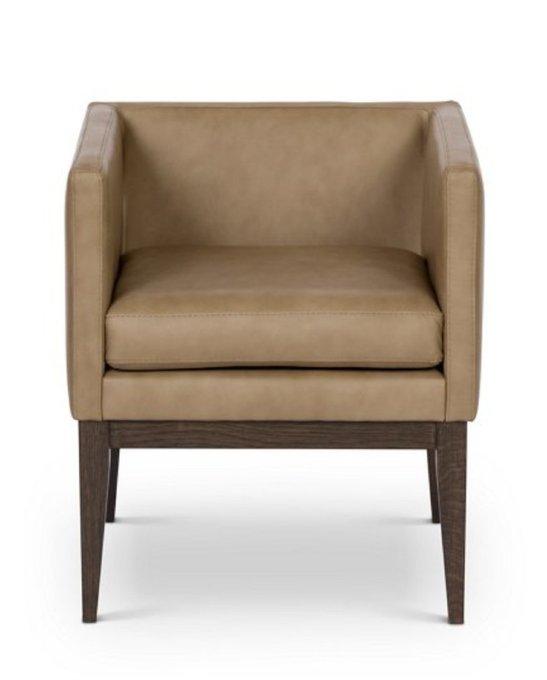 Кресло Country коричневого цвета