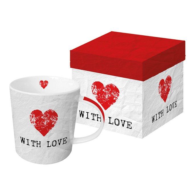 Кружка в подарочной упаковке Paperproducts Design with love 350 мл