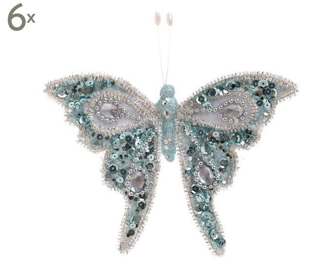 Набор декоративных украшений в форме бабочки