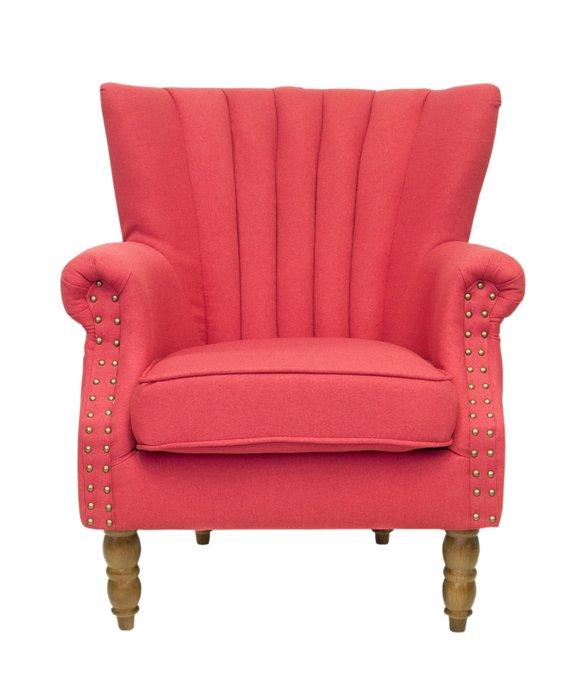 Кресло с пуфом Lab red