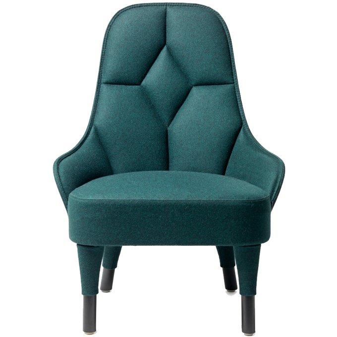 Кресло Emma бирюзового цвета