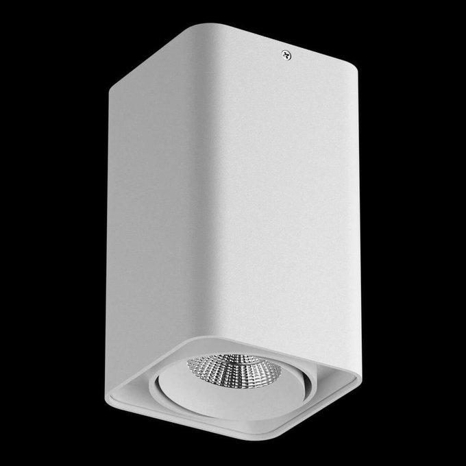 Потолочный светодиодный светильник Monocco белого цвета