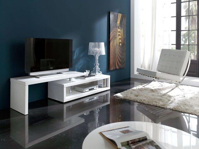 Тумба-трансформер TV белого цвета
