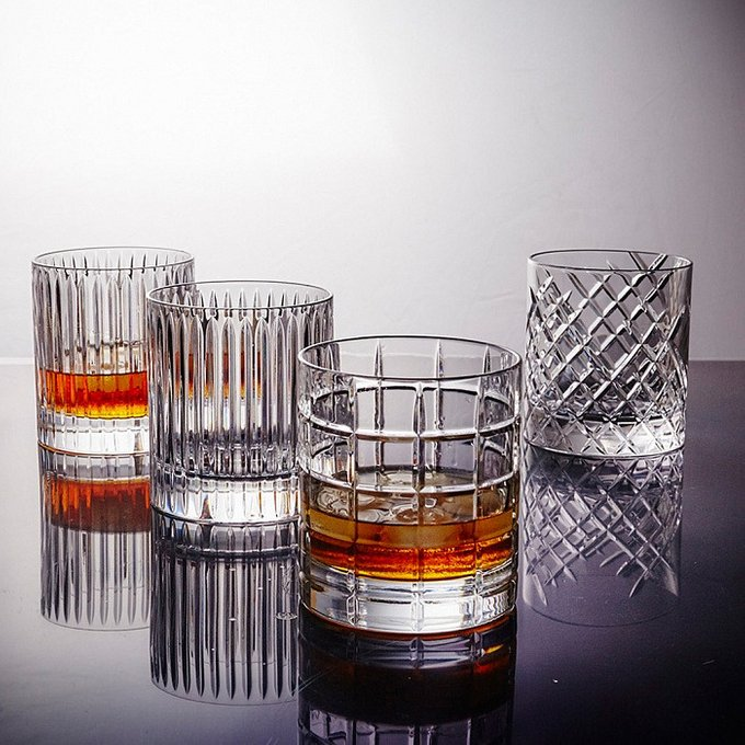 Стакан для виски Scacchi RE из хрусталя