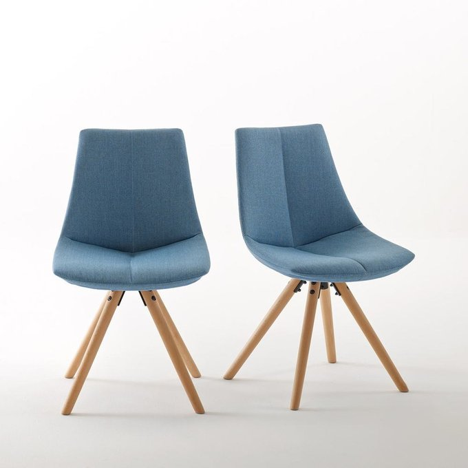 Комплект из двух стульев Asting синего цвета
