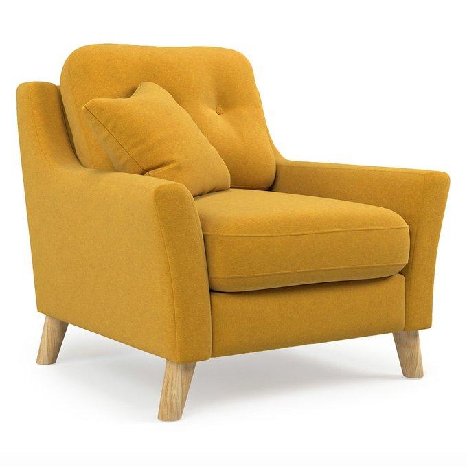 Кресло Raf желтого цвета