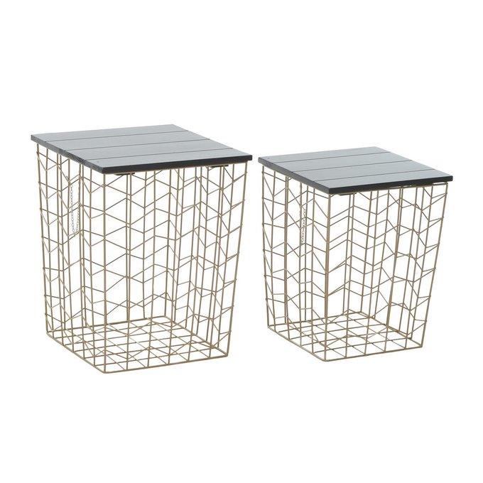 Набор из 2 столов корзин