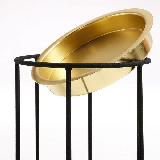 Кофейный стол Fama из металла со съемной столешницей