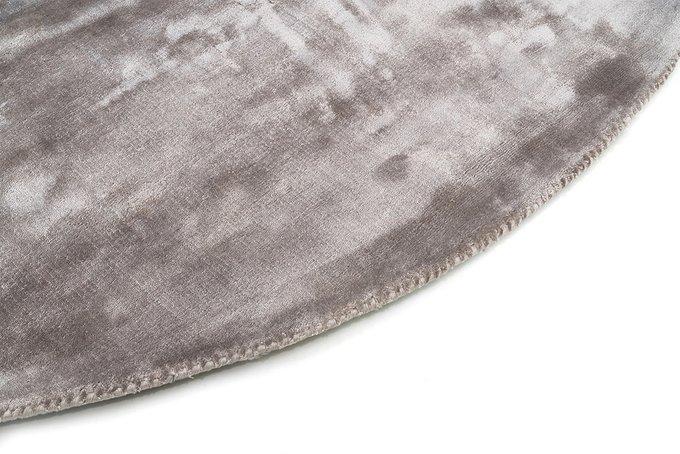 Ковер Aracelis серого цвета диаметр 200
