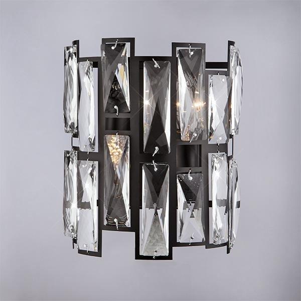 Настенный светильник Bogates Frammenti с плафоном из хрусталя