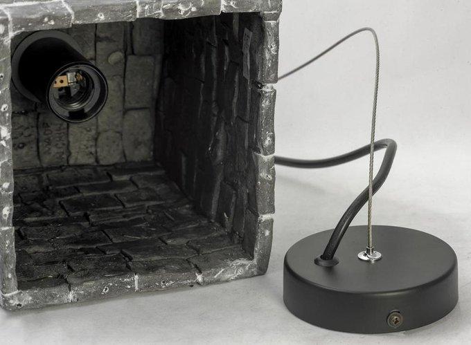 Подвесной светильник с керамическим плафоном