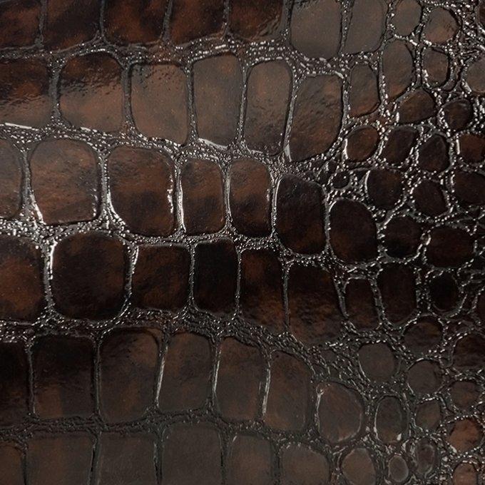 Пуф Leset Кабан темно-коричневого цвета