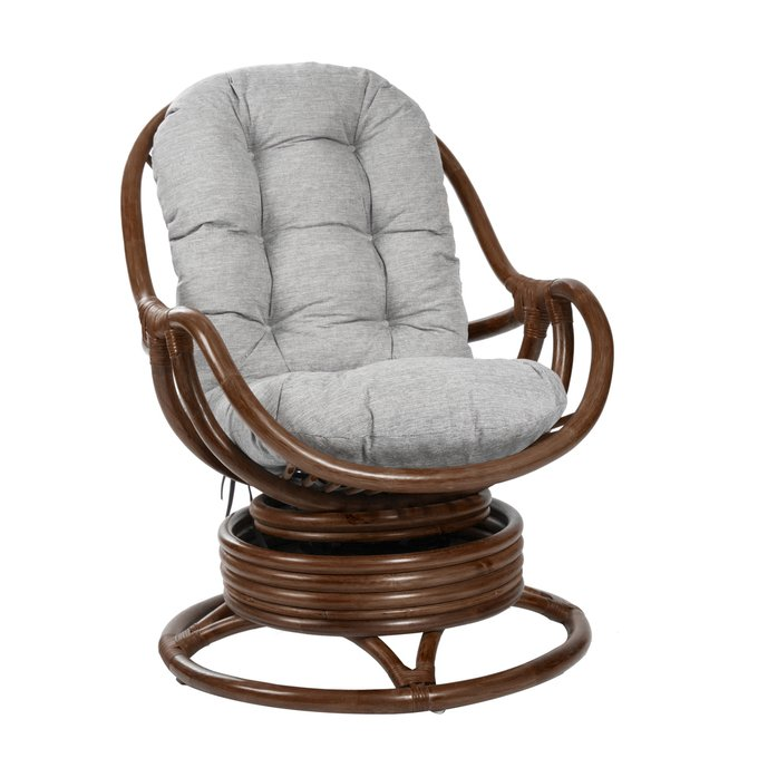 Кресло-качалка Kara коньяк