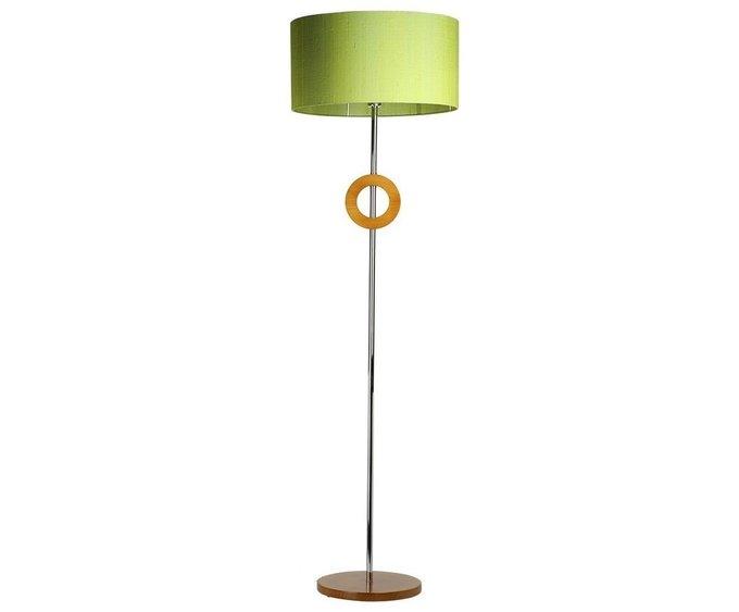 Напольная лампа с зеленым абажуром Paulo Coelho
