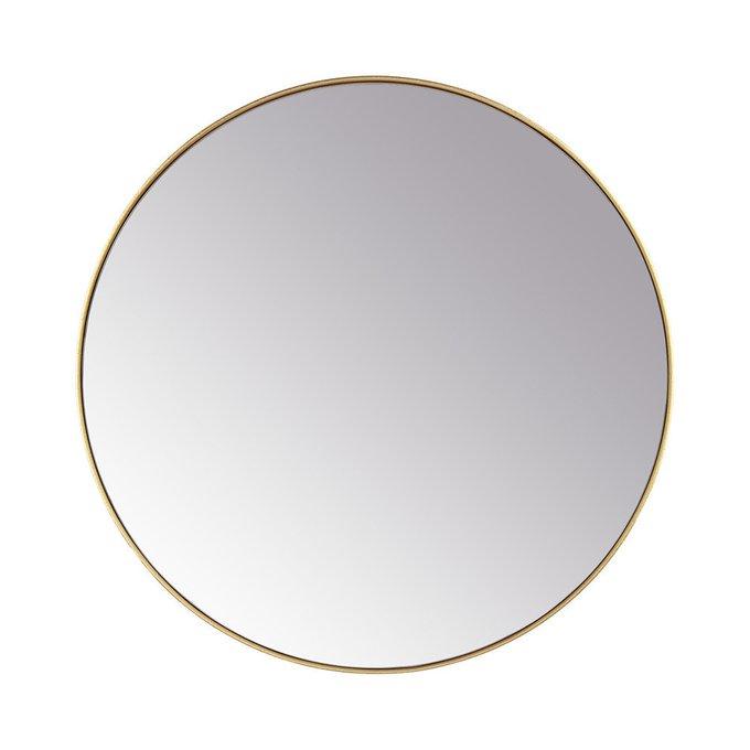 Зеркало настенное Орбита в золотой раме