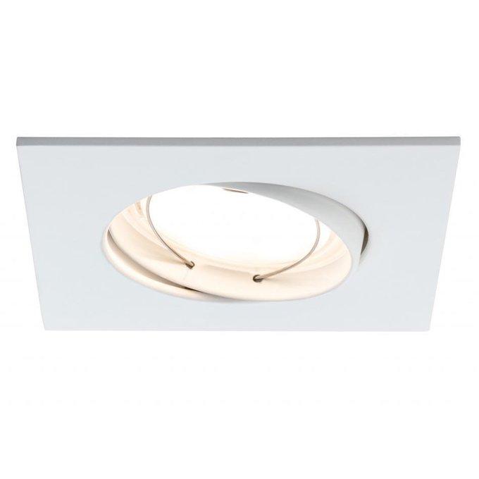 Встраиваемый светодиодный светильник Premium Line Coin белого цвета