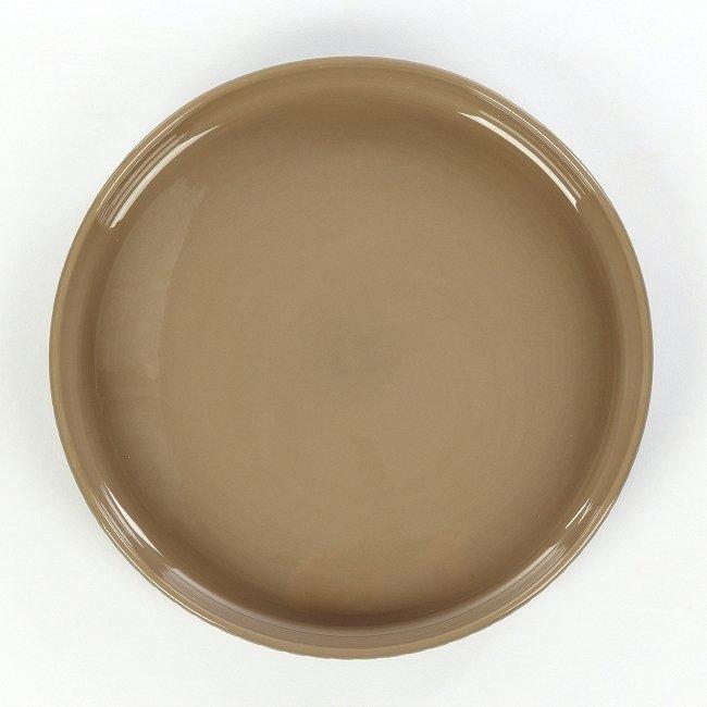 Тарелка Tactile серого цвета