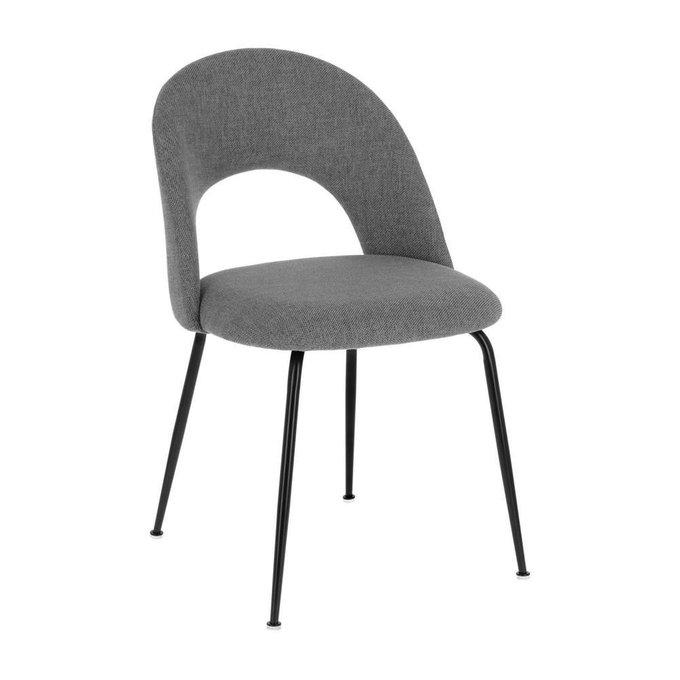 Мягкий стул Mahalia light grey серого цвета