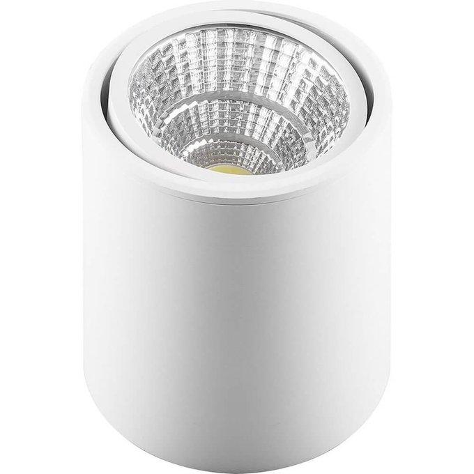 Потолочный светодиодный светильник белого цвета