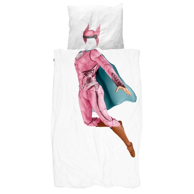 Комплект постельного белья Супергероиня 150х200