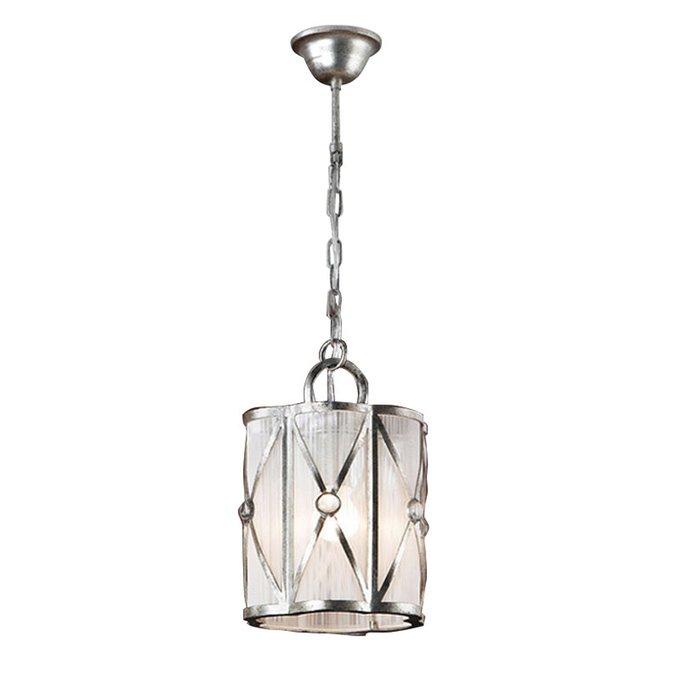 Подвесной светильник Schuller ESPARTA декорирован элементами из прозрачного стекла
