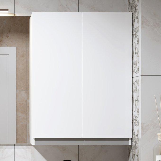 Шкаф универсальный Soft Silver 60 белого цвета