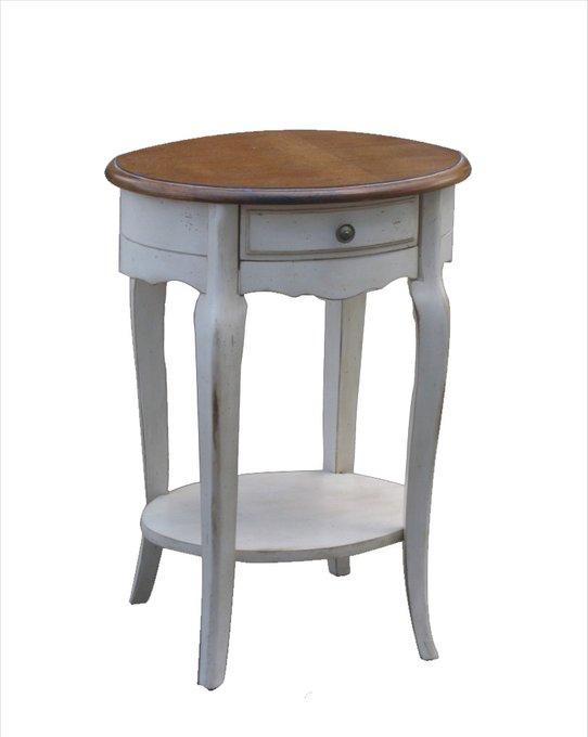 Кофейный Столик прикроватный из массива дерева