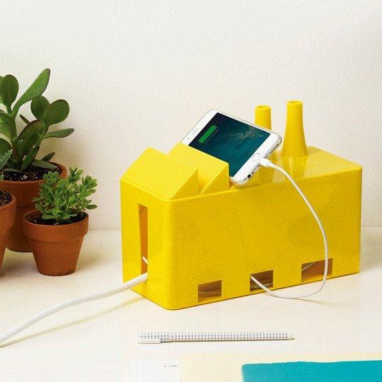 Органайзер для проводов 'Cable Factory' (разные цвета) / Желтый