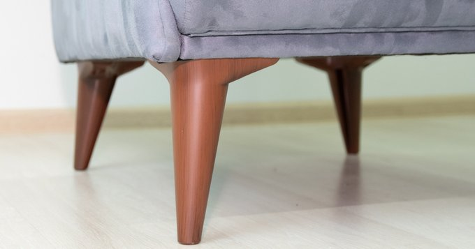 Кресло Болеро серого цвета
