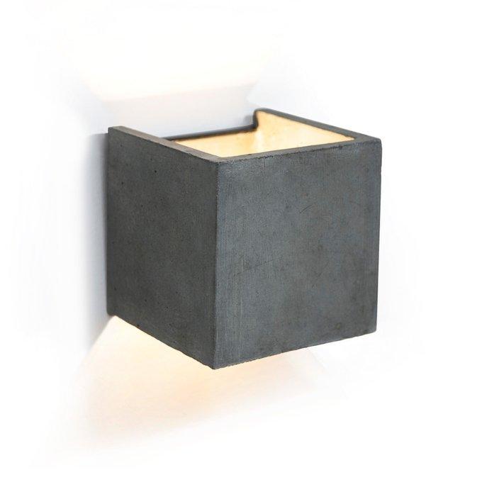 Настенный светильник Tom из бетона и металла