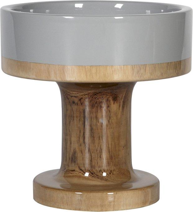 Ваза настольная Bowl Wood