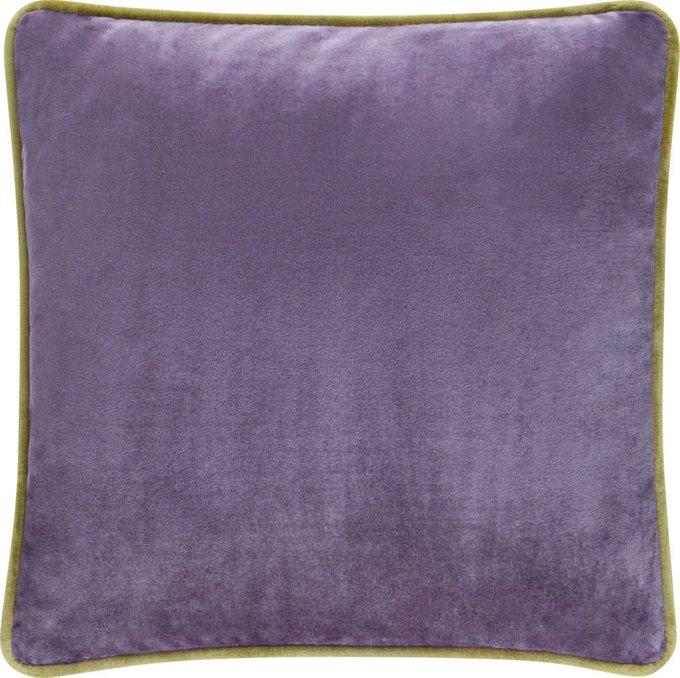 Подушка NOLA с обивкой из фиолетовой ткани