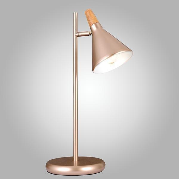 Настольная лампа Eurosvet Amadeo перламутровое золото