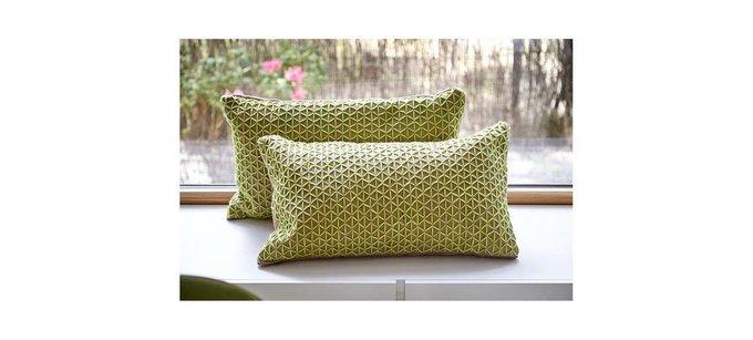 Чехол на подушку Raw зелёного цвета