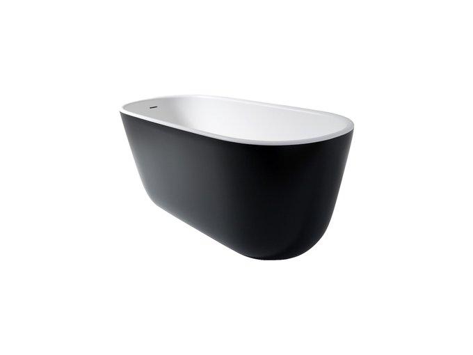 Каменная Ванна Lullaby Mini Черно-Белого цвета