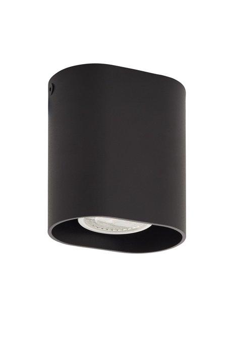 Накладной светильник черного цвета