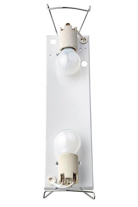 Настенный светильник Libra с плафоном из стекла