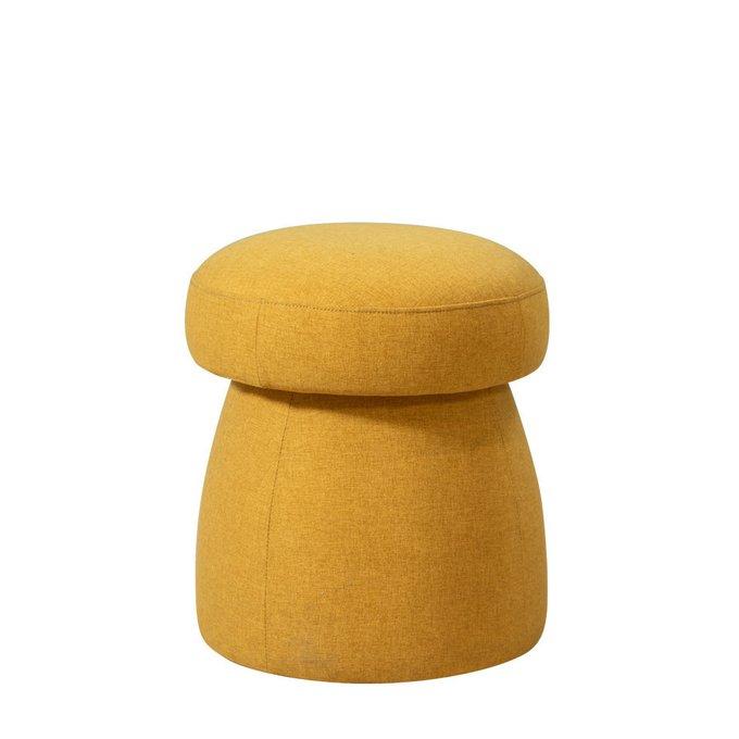 Пуф Togo желтого цвета