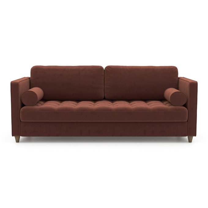 Диван-кровать Scott EKL бордового цвета