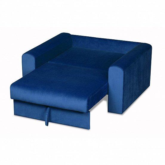 Кресло-кровать Мэдисон Лувр синего цвета