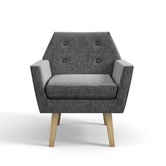 Мягкое кресло Galaxy серого цвета