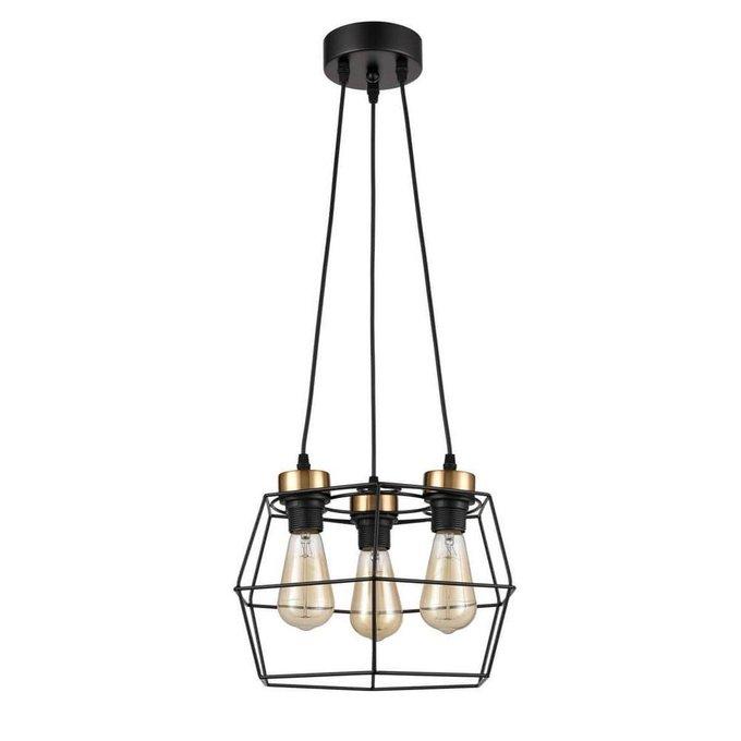 Подвесной светильник Tempo черного цвета